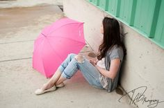 Pink umbrellas are fun! -TAB photography