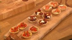 Feed all your friends at your Christmas party with these quick canapes.  Catch up with Let's Do Lunch on ITV Player