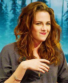 Kristen Stewart. She's adorable when she smiles