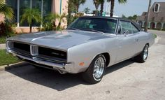 1969 Dodge Charger  We had this car in black