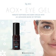 AOX+ Eye Gel contains a triple blend of antioxidants to target puffiness, improve dark circles, prevent future signs of aging, and combat signs of fatigue for brighter eyes in no time flat.