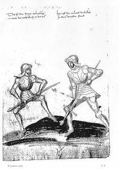 Fechtbuch by Hans Talhoffer, 1459; Luetwold von Koniggsegg Edition