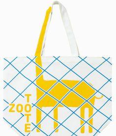 Zoo Tote bags designed by art director Kenjiro Sano