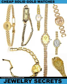 ► ► Cheap Solid Gold Watches ► ► Are they worth it?