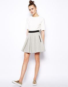 French Connection Flared Skirt