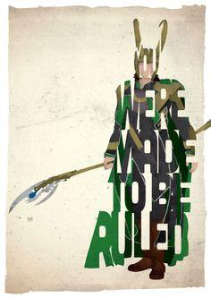 Loki Typografie