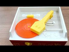 3D printed record on a 70s Fisher Price player rocking the Star Wars theme.