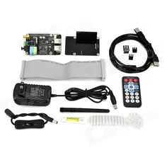 X300 Expansion Board w/ Remote Control Kit Set for Raspberry Pi B+ - Black. Input Voltage: DC 6~21V, converted to 5V, 4A via step-down DC/DC converter to power the Raspberry Pi. - Storage: SATA port allows you to connect SATA devices to your Raspberry Pi. - Audio: 3.5mm MIC in jack, 3.5mm stereo audio jack, SPDIF output, audio IO connector (Microphone input and stereo audio amplifier 3.3 x 2W) - Wireless: Wi-Fi (IEEE 802.11b/g/n) with antenna, IR sensor (38KHz) - USB: self-powered USB hub…
