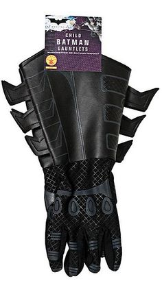 #Batman #ChildGauntlets #DarkKnight #Gloves #Accessory #Halloween