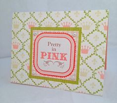 Pretty in Pink by JBRCards on Etsy