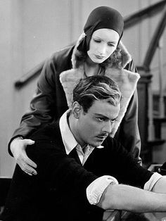 Greta Garbo and Nils Asther, The Single Standard, 1929. the two lonesome swedish stars