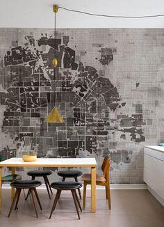 No Plan wallpaper - Wall&Deco via Atticmag