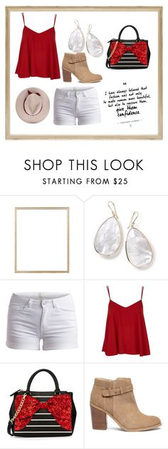 """the bold the brave,"" by tiffany-sanchez-1 ❤ liked on Polyvore featuring Rifle Paper Co, Ippolita, Pieces, Topshop, Betsey Johnson and Sole Society"