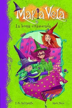 La bruja enamorada / E.B. Castillo, Moni Pérez. Las aventuras de Makia, Cereza y Escarlata, tres jóvenes brujas que tendrán que descubrir cuáles son sus poderes especiales en la Escuela de Brujas de la Ciudad Mágica de Abracadabra.