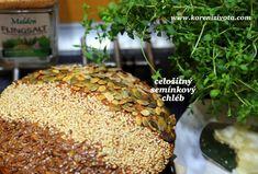 Celožitný semínkový chléb