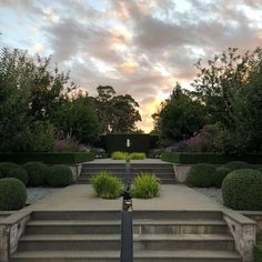 """2,062 Likes, 24 Comments - Paul Bangay (@paulbangay) on Instagram: """"Our view from the sitting room at sunset #Stonefields"""""""
