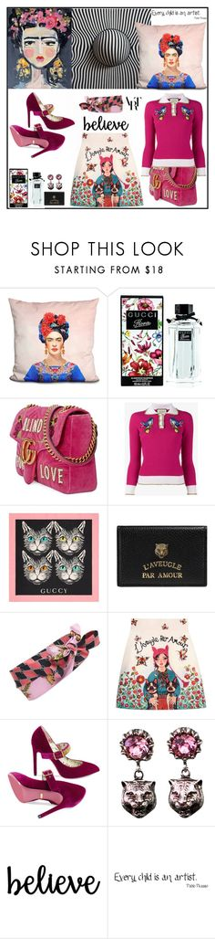 """""""Artists"""" by sue-mes ❤ liked on Polyvore featuring LiLiPi and Gucci"""