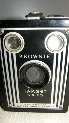 ~ vintage Brownie camera ~  The kind my mother used when I was a child 1937