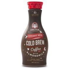 Peppermint Mocha Cold Brew Coffee