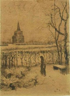 Melancholy. 1883. Vincent van Gogh: The Drawings