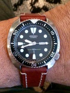 Vintage Seiko ref. 6309 Turtle