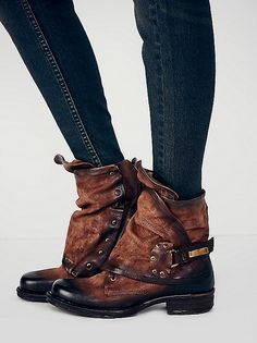 Emerson ankle boot, brown. Freepeople.com