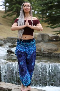 Electric Blue Yoga pants from Champa Clothing Blue Yoga Pants, Electric Blue, Stylish Outfits, Off Shoulder Blouse, Crop Tops, Clothing, Women, Fashion, Dapper Clothing