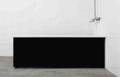 Snygg högblank svart badkarsfront från Langenfeld Flat Screen, Bathtub, Bathroom, Bath Room, Bath Tub, Bathtubs, Full Bath, Tubs, Bathrooms