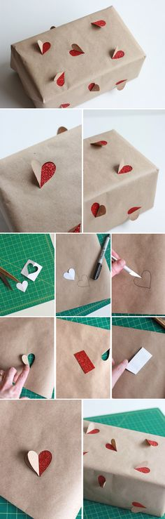 30 Best Ways How to Wrap Gifts for Valentines - ArchitectureArtDesigns.com