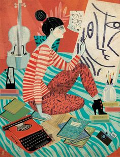 Women's Magazines. Illustration. by Gosia Herba, via Behance…