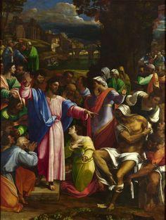 [Renaissance]] The Raising of Lazarus (1519) - Sebastiano del Piombo