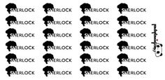 sherlock tv series planner stickers  tv happy by PandaPlanning