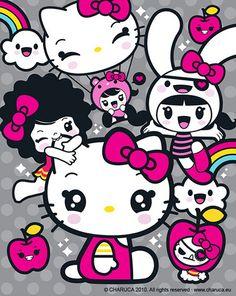 Charuca hello kitty party!