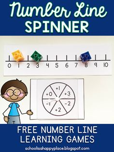 Free Number Line Activity                                                                                                                                                                                 More
