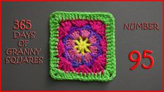 365 Days of Granny Squares Number 95