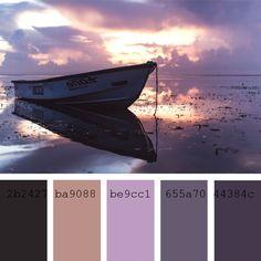 Paletas de colores Pantone: violeta claro / #Pantone #ColorPalette #Purple