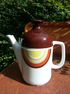 Mid Century Porcelain Coffee Service Hostess by by fcollectables, €30.00
