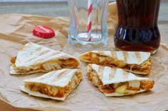 Quesadilla s piletinom na ReciPeci način Quesadilla, Tacos, Mexican, Ethnic Recipes, Food, Meal, Eten, Quesadillas, Meals