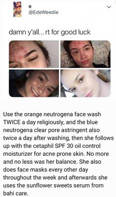 Brilliant Face skin care idea number this is the smart road to give correct care for the facial skin. Daily daily skincare routine tips ideas of facial skin care. Acne Skin, Acne Prone Skin, Oily Skin, Sensitive Skin, Rides Front, Clear Skin Tips, Healthy Skin Care, Face Skin Care, Belleza Natural