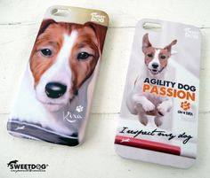 KIRA (Jack Russell Terrier) - personalized  iPhone 4 covers