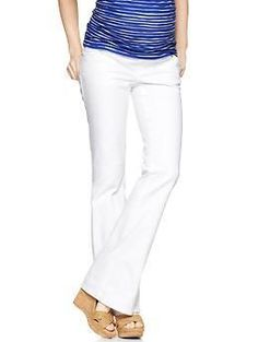98e9b7cccdcd6 Pre-owned Designer Maternity Boot Cut Jeans- up to 90% off at Motherhood  Closet - Maternity Consignment