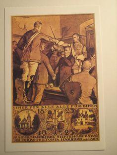 Marburg - Corps Teutonia - Landesvater - Wappen - Corpshaus / Studentika | eBay