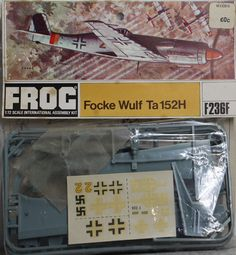 Focke Wulf, Old Models, Model Kits, Plastic Models, Toy, Clearance Toys, Toys
