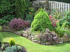 jardines de casas rusticas - Buscar con Google