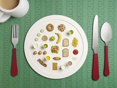 Delightful Still Lifes of Olympic Athletes' Daily Diets from Flavorwire