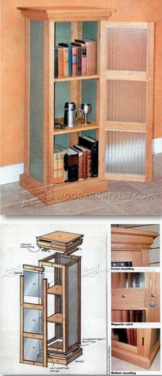 Chimney Cupboard Plans - Furniture Plans and Projects - Woodwork, Woodworking, Woodworking Plans, Woodworking Projects Building Furniture, Home Decor Furniture, Furniture Projects, Furniture Making, Wood Furniture, Woodworking Furniture Plans, Woodworking Projects That Sell, Diy Wood Projects, Diy Woodworking