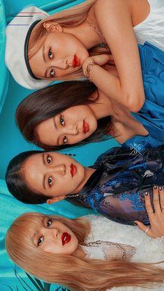 Blackpink Wallpaper List of Latest Aesthetic Pink Wallpapers for Blackpink Jisoo, Kpop Girl Groups, Korean Girl Groups, Kpop Girls, Blackpink Wallpaper, Mode Rose, Black Pink Kpop, Black Girls, Blackpink Memes