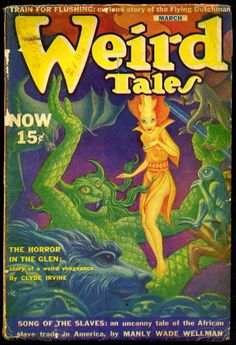 Hannes Bok Weird Tales March 1940