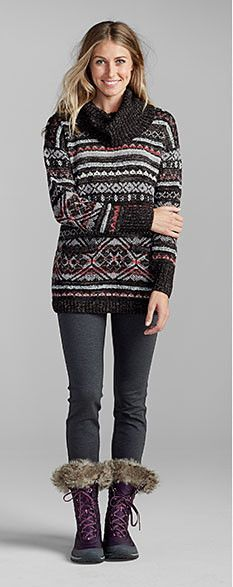 Talbots - Ombre Fair Isle Sweater   Sweaters     SJB holiday 16 ...