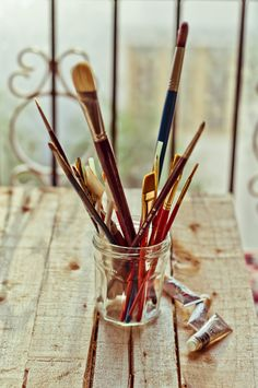 hellanne:    Day 363.365 - Paint brush (by anshu_si)